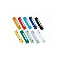 D08-200 Įsegėlės plastikinės 20vnt spalvotos E31512-99 PAPIRUS