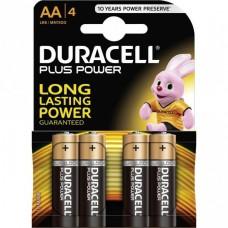 P10-423 Elementai DURACELL AA 4vnt LR6/MN1500 Bx4