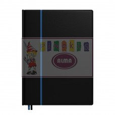 B13-248 Darbo knyga 2020m FUTURA LUX A4 juod-mėl 2417120510 TIMER