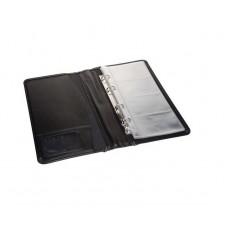 G01-7161 Dėklas vizitinėms juodas PS-6430 PRESIGN