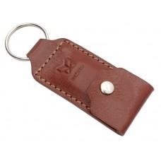 G02-291 Raktų pakabukas su kišene rudas 87406706 JAGUAR