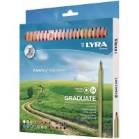 Pieštukai GRADUATE 24sp. L2871241FILA/LYRA, R06-651