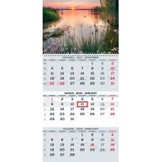 B13-041 Kalendorius 3-jų dalių 2018m. TRIOvientisas 2417020001 T