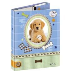 M02-096 Dėklas sąsiuviniams, A5, Pretty Pets Hund, 10314243, HERLITZ