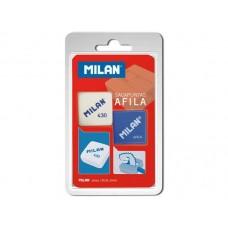 M08-038 Drožtukas+trintukas, blisteris, BYM10003, MILAN