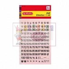 M11-239 Lipdukai Skaičiai 2vnt 00837161 HERLITZ