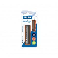 R05-081 Šerdelės automatiniam pieštukui 0.5mm HB 120vnt BWM10320 MILAN