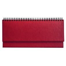B13-142 Stalo kalendorius 2018m, MEMO PU, raudonas, 2417416006 TIMER