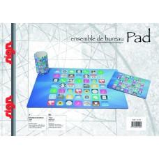 P02-001 Stalo rinkinys pieštukinė + patiesalas + kilim.pelei 211