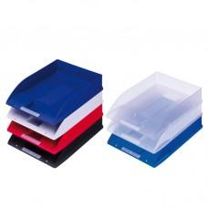 P01-714 Lentynėlė dokumentams skaidriai mėlyna 10313450 HERLITZ