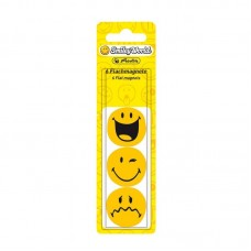P05-033 Magnetai lentai 24mm 6vnt. SmileyWorld 11299245 HERLITZ