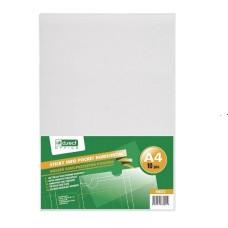 P10-046 Lipni plastikinė kišenė A4 horizontali 10vnt. 208023