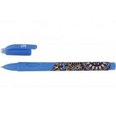 11969-02 PAPIRUS, Ištrinamas rašiklis ETHNO STYLE mėlynas, R02-049
