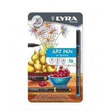 R02-401 Rašiklių Art Pen rinkinys 10sp L6751100 FILA/LYRA
