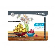 R02-402 Rašiklių Art Pen rinkinys 20sp L6751200 FILA/LYRA