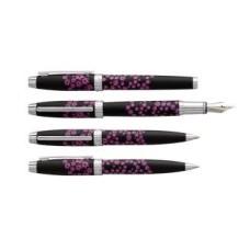 R03-2011 Rinkinys MINI ENZO VARINI juodas su gėlėm SE826146 SIG