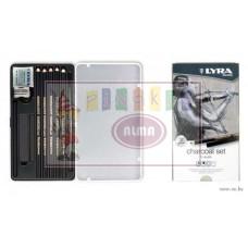 R05-0365 Pieštukų rinkinys CHARCOAL L2041112 LYRA/FILA