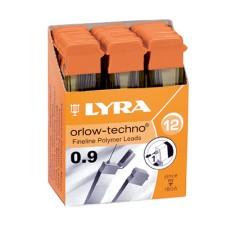 R05-106  Šerdelės automatiniam pieštukui 0.9 B 5003101 LYRA/FILA