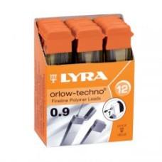 R05-107  Šerdelės automatiniam pieštukui  0.9 2B L5003102 FILA/LYRA