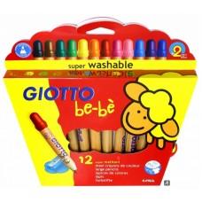 R06-0571 Pieštukai 12sp GIOTTO BE-BE 466500 FILA/LYRA