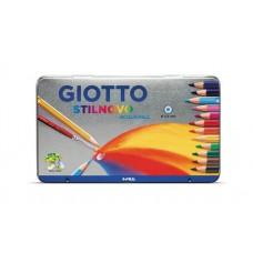 R06-068 Akvarel.pieštukai STILNOVO met.dėž 36sp 256400 FILA/LYRA