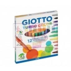 R07-021 Flomasteriai 12sp GIOTTO 416000 FILA/LYRA