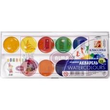 R14-004 Akvarelė, medaus, 12 spalvų, CLASSIC, 8C419-08, 19C1286-08, Luč/4