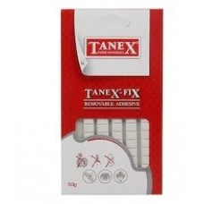 FIX TANEX Plastilininiai klijai 50g 80 vnt, C03-905
