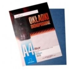 T05-199 Reljefinis viršelis D.RECT A4 250g įvairių spalvų (1vnt