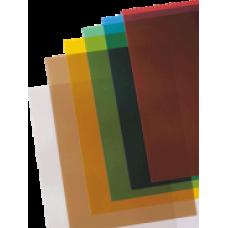 T05-305 Žalios, įrišimo nugarėlės, viršeliai, Prestige, Color, A4, 200mic