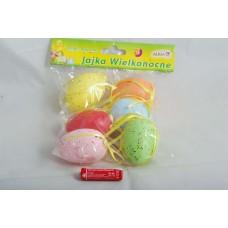 Kiaušinis velykinis 6vnt plastikinis WPJ-8897 ALIGA, X02-051