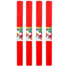 B06-505 Krepinis popierius 50cmx2m šv.raudonas 218493 STARPAK