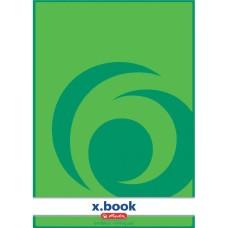 B03-070 Bloknotas  A4 50l X.BOOK baltas 00717405 HERLITZ/10/80
