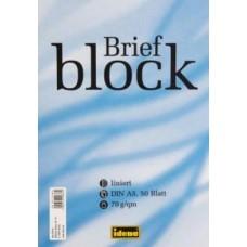 B03-110 Bloknotas su perf  A5 50l 70g linija 214073 IDENA