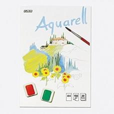 B04-023 Akvarelinis popierius A4 20l 00495457 HERLITZ
