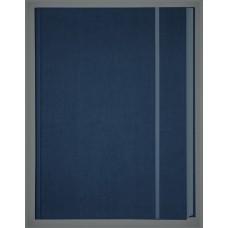 101511 KRESKA Albumas eskizams su guma A4 80l 150g/m tamsiai mėlynas B04-493