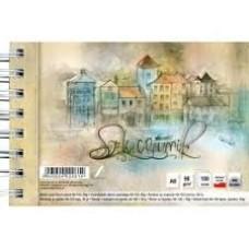 B04-499 Albumas eskizams su spir A6 100l 90g/m 020614 KRESKA