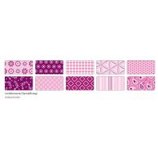 B06-395 Foto kartonas 50x70cm 270g dekor-rožinis 46309 FOLIA/10