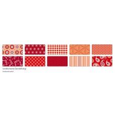 B06-396 Foto kartonas 50x70cm 270g dekor-raudonas 46209 FOLIA/10