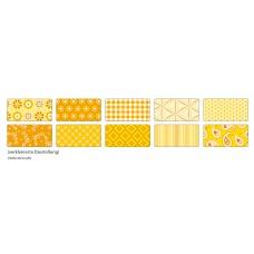 B06-397 Foto kartonas 50x70cm 270g dekor-geltonas 46109 FOLIA/10