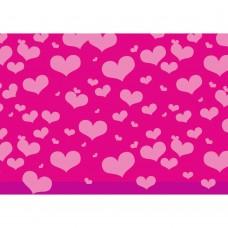 B10-311 Dovanų pakavimo pop. ŠIRDYS 70x200cm 11450681 SUSY CARD