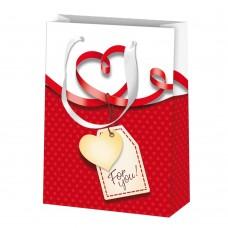 B10-941 Maišelis dovanų pakavimui ŠIRDYS 11360856 SUSY CARD/5