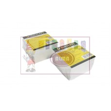 B11-555 Balti užrašų lapeliai 8x8cm, 300 lapų, 27992 PAPIRUS