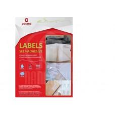 B12-300 Lipnios etiketes A4 210x297mm 100l 25101 PAPIRUS