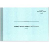Ūkinių operacijų registravimo žurnalas F2 A4 48l 181, B15-217