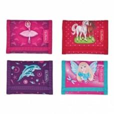 M01-906 Vaikiška piniginė GIRLS MIX 50008780 HERLITZ