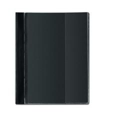 D04-330 Segtuvėlis A4 sk.virš.ir vidine kišene juod10902120HERLITZ5