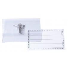 D07-319 Vardinių kortelių dėklas 90x55mm hor 1vnt E41401 PAPIRUS/50