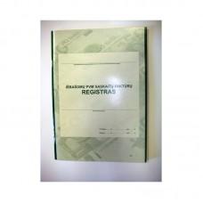 Išrašomų PVM sąskaitų-faktūrų registras A4 48l 000301, B15-825