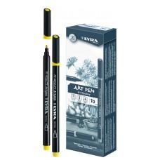 R02-408 Rašiklis Art Pen t.geltonas L6750007 FILA/LYRA/10